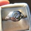 .80ct Vintage Old European Cut Diamond Dome Ring 14