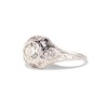 .80ct Vintage Old European Cut Diamond Dome Ring 1