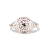 .80ct Vintage Old European Cut Diamond Dome Ring 0