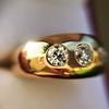 0.82ctw Old European Cut Diamond Gypsy Ring 17