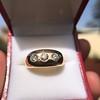 0.82ctw Old European Cut Diamond Gypsy Ring 21