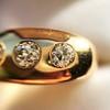0.82ctw Old European Cut Diamond Gypsy Ring 14