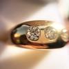 0.82ctw Old European Cut Diamond Gypsy Ring 13