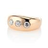 0.82ctw Old European Cut Diamond Gypsy Ring 1