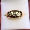 0.82ctw Old European Cut Diamond Gypsy Ring 5