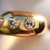 0.82ctw Old European Cut Diamond Gypsy Ring 16