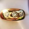 0.82ctw Old European Cut Diamond Gypsy Ring 9
