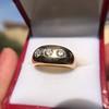 0.82ctw Old European Cut Diamond Gypsy Ring 24
