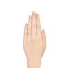 0.82ctw Old European Cut Diamond Gypsy Ring 2