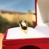 0.82ctw Old European Cut Diamond Gypsy Ring 12