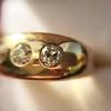 0.82ctw Old European Cut Diamond Gypsy Ring 20