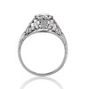 .84ctw Transitional Cut Diamond Filigree Solitaire 3