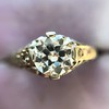 .84ctw Transitional Cut Diamond Filigree Solitaire 23