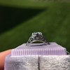 .84ctw Transitional Cut Diamond Filigree Solitaire 15