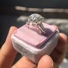 8.54ct Old European Cut Diamond Solitaire GIA OP VS 37