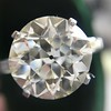 8.54ct Old European Cut Diamond Solitaire GIA OP VS 30