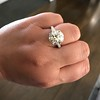 8.54ct Old European Cut Diamond Solitaire GIA OP VS 43
