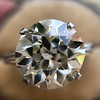8.54ct Old European Cut Diamond Solitaire GIA OP VS 6