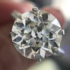 8.54ct Old European Cut Diamond Solitaire GIA OP VS 35