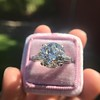 8.54ct Old European Cut Diamond Solitaire GIA OP VS 11