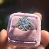 8.54ct Old European Cut Diamond Solitaire GIA OP VS 41