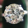 8.54ct Old European Cut Diamond Solitaire GIA OP VS 29