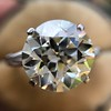 8.54ct Old European Cut Diamond Solitaire GIA OP VS 1