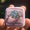 8.54ct Old European Cut Diamond Solitaire GIA OP VS 14