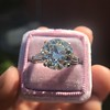 8.54ct Old European Cut Diamond Solitaire GIA OP VS 24
