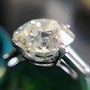 8.54ct Old European Cut Diamond Solitaire GIA OP VS 26