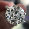 8.54ct Old European Cut Diamond Solitaire GIA OP VS 34