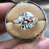 8.54ct Old European Cut Diamond Solitaire GIA OP VS 5