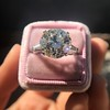 8.54ct Old European Cut Diamond Solitaire GIA OP VS 27