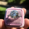 8.54ct Old European Cut Diamond Solitaire GIA OP VS 7