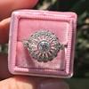 .85ctw Old European Cut Floral Motif Ring 15