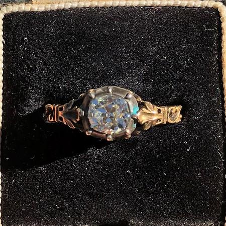 .88ct Georgian Revival Collet Set Diamond Solitaire