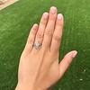 .88ctw Antique Navette Diamond Ring 9