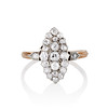 .88ctw Antique Navette Diamond Ring 0