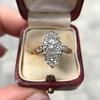 .88ctw Antique Navette Diamond Ring 17