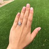 .88ctw Antique Navette Diamond Ring 5