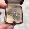 .88ctw Antique Navette Diamond Ring 16
