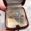 .88ctw Antique Navette Diamond Ring 15