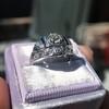 .93ctw Art Deco Old European Cut Diamond Dome Ring 20