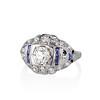 .93ctw Art Deco Old European Cut Diamond Dome Ring 0