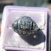 .93ctw Art Deco Old European Cut Diamond Dome Ring 6