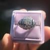 .93ctw Art Deco Old European Cut Diamond Dome Ring 15