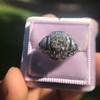 .93ctw Art Deco Old European Cut Diamond Dome Ring 14