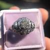 .93ctw Art Deco Old European Cut Diamond Dome Ring 10