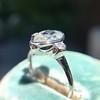 .95ctw Vintage Pear Rose Cut Diamond Bezel Ring 23