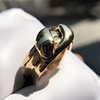 Antique Double Serpent Ring 12